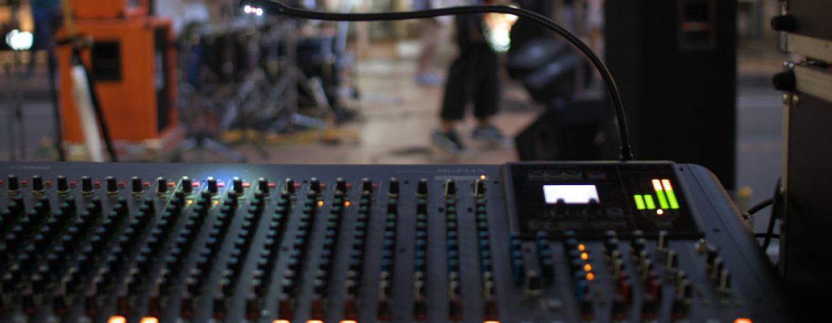音響オペレータ付きレンタル